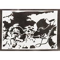 One Piece Luffy Ace Und Sabo Handmade Street Art - Artwork - Poster