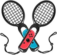 ykooe Tennis Racket Protective Case for Nintendo Switch Joy Con Controller Enhance Grips with Hand Straps for