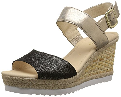 Gabor 45-790 sandales mode femme Multicolore (37 schwarz/space)