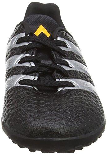 adidas Ace 16.4 Tf, Chaussures de Football Entrainement Garçon Noir (Core Black/Silver Met./Solar Gold)