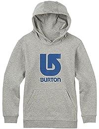 Burton Logo Vertical Pullover Sweat-Shirt à Capuche Garçon