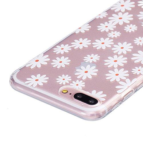 Apple iPhone 7 4.7 Hülle, ANNNWZZD Neue Muster Ultra dünn TPU Silikon Schutzhülle HandyHülle Handytasche Case Cover Schutz Telefon Tasche Etui Bumper Weiche Flexibel Schale,A03 A06