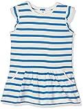 Petit Bateau Baby-Mädchen Kleider Robe MC_22084, Mehrfarbig (Lait/Delft 38), 86 (Herstellergröße: 18m/81cm)