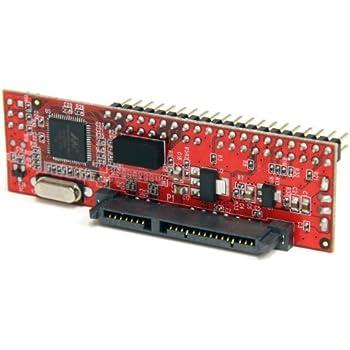 "StarTech.com IDE2SAT Adaptateur Convertisseur IDE vers SATA 2.5"" ou 3.5"" 1x IDE Mâle 1x SATA Data & Power Combo Receptacle 1x SP4 Mâle"
