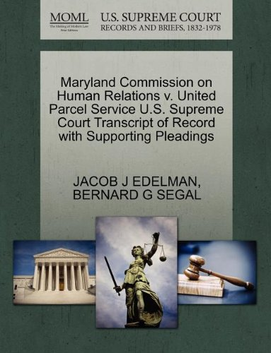 maryland-commission-on-human-relations-v-united-parcel-service-us-supreme-court-transcript-of-record
