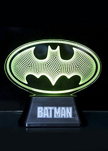 DC Comics Acrylic Table Light Batman Edge Logo 18 cm Groovy Decoration