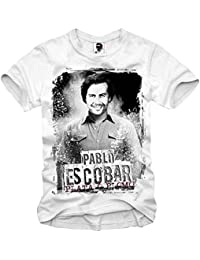 E1SYNDICATE T-SHIRT PABLO ESCOBAR COCAINE NARCOS LIFE OF DOPE XS-XXL