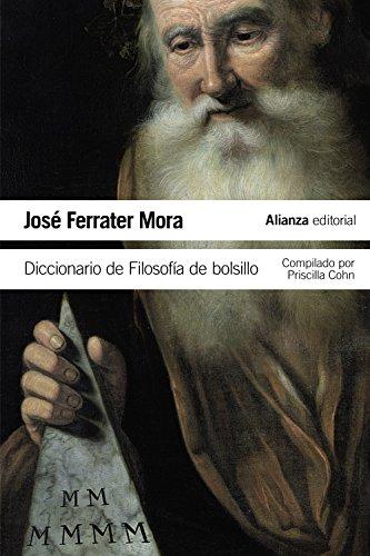 Diccionario de filosofía de bolsillo (El Libro De Bolsillo - Filosofía) (Filosofia De La Ciencia)