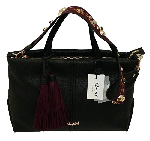 Borsa shopping media due manici BLUGIRL BG 830003 women bag NERO
