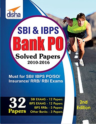 SBI & IBPS Bank PO Solved Papers - 32 Papers