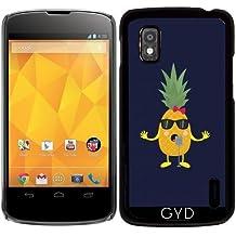 Funda para Google Nexus 4 - Piña Canto by ilovecotton