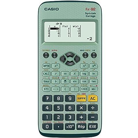 Casio Fx 92 Calculatrice scientifique Spéciale