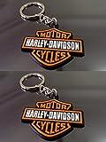 Harley Davidson Synthetic Rubber Key cha...