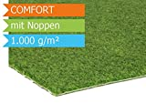 Rasenteppich Kunstrasen Comfort m. Noppen - 1