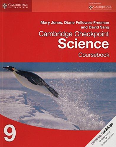 Cambridge checkpoint science. Coursebook. Per la Scuola media: 9 (Cambridge International Examinations) por Mary Jones