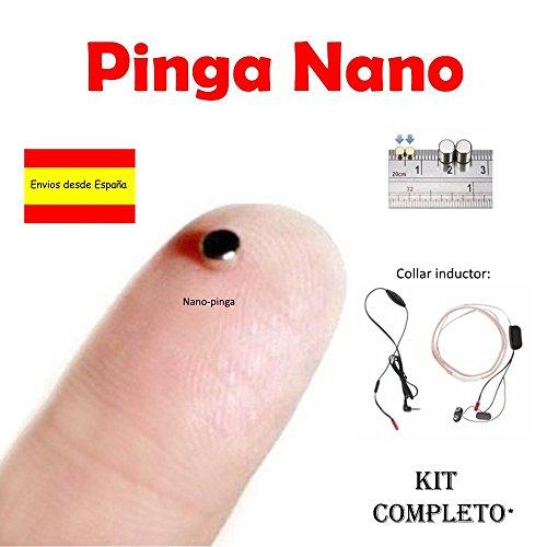 El Pinga Nano es el modelo de pinga más pequeño y eficaz. Queda totalmente oculto en el interior del oído. Es perfecto para aprobar esos exámenes que no te da tiempo a estudiar y que tanto cuentan. También para una presentación, examen oral, etc. Fun...