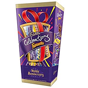 Cadbury Celebrations Favorites Chocolate Gift Box, 180.3 gm (Pack of 2)