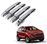 #9: Auto Pearl - Chrome Door Handle Latch Cover - Ford EcoSport