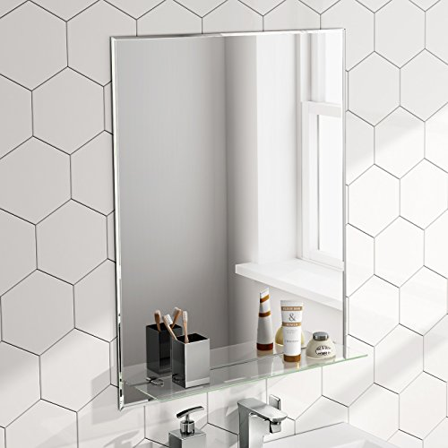 Soak Espejo baño 600 x 800 balda cristal