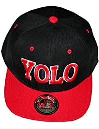 YOLO (You Only Live Once) Snapback Cap