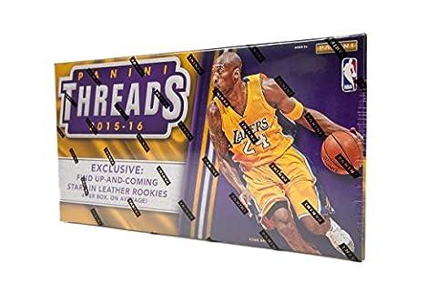 2015/16 Panini Threads Premium Basketball Hobby Box NBA
