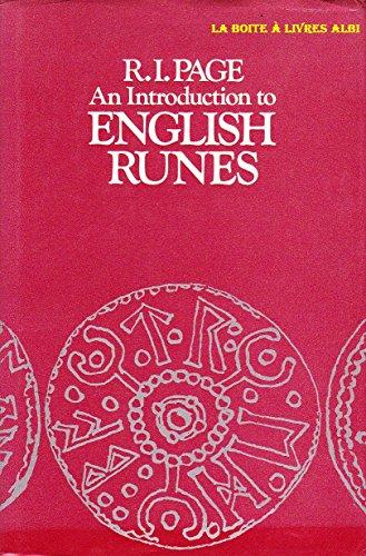 An Introduction to English Runes Numismatic Numismatique Ordres, Décorations Billets, Assignats, Écus, Deniers, Rouelles, Anneaux, Jetons, Méreaux, Médailles, Monnaies par R. I. Page
