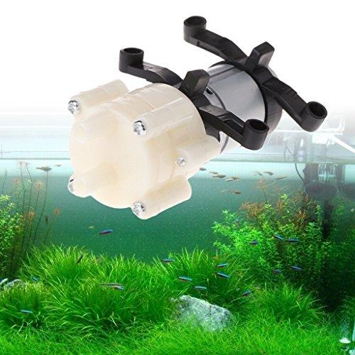 Vektenxi DC6-12V R385 Aquarium Runde Wasser Luft DC Membranpumpen Zubehör Langlebig und praktisch