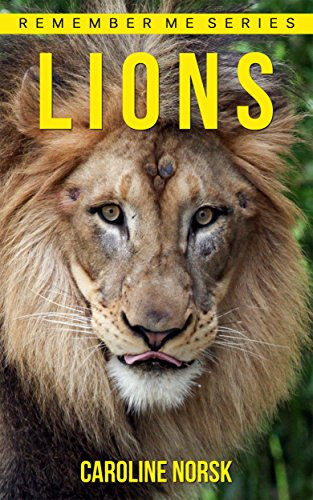 lion-amazing-photos-fun-facts-book-about-lions-for-kids-remember-me-series-english-edition