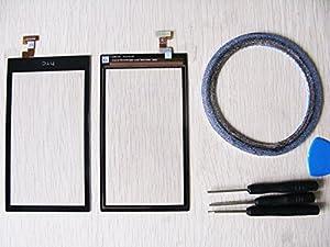 Amyahu For HTC Desire 510 Touchscreen Digitizer Display Glas Schwarz neu +Werkzeug & Klebeband ...