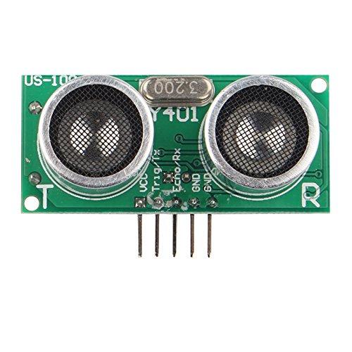 HALJIA us-100Ultraschall Sensor-Modul Distance Measuring Transducer Board für Arduino UNO DIY Dc-spannung Transducer