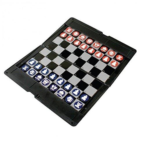 Schach Spiel mit Magnetfiguren für die Reise - Reisespiel Brettspiel