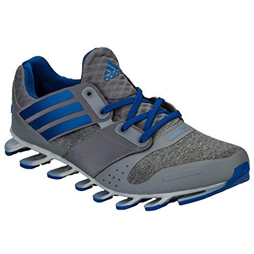 adidas Springblade Solyce M, Chaussures de Running Entrainement Homme gris - Varios colores (Gris (Gris / Azul / Ftwbla))