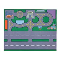 Large Heathwick Airport Playmat (100x75cm) - an air traffic controllers dream! (Toys not included) by Be-Active
