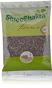 ShreeChakra Farms Organic Chia Seeds, 200g