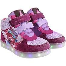 Zapatillas botas deportivas con luz Trolls Poppy-T.28