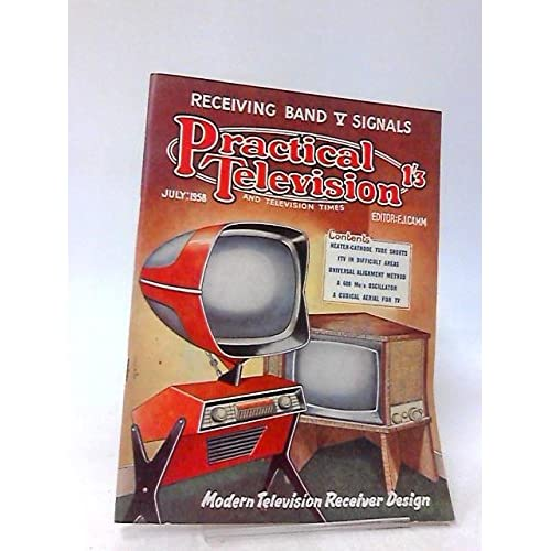 Practical Television & Television Times 1958