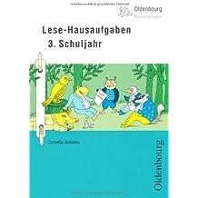 Lese-Hausaufgaben 3. Schuljahr von Scholtes, Cornelia (2012) Ringeinband