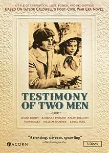 Testimony of Two Men [DVD] [1977] [Region 1] [US Import] [NTSC]