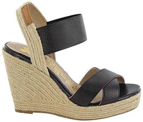 XTI Sandalia Sra. Metalizado Negro - Sandalo per donna Nero
