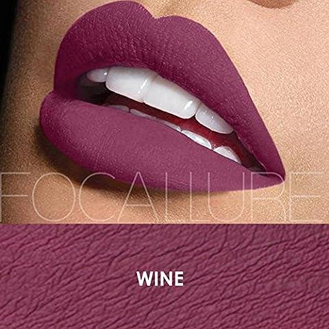 Urparcel Femme Rouge à lèvre Lustre à lèvre matte Glosse à lèvre longue durée maquillage beauté Waterproof FA 24 13# veuillez regarder les autre couleurs dans notre