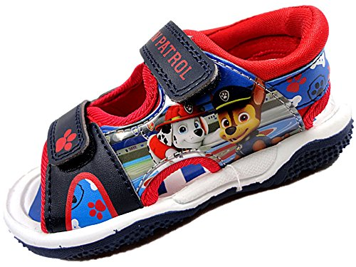 Boys Paw Patrol Beach Walking Sports Sandal Childrens Shoes 5-10 (5 Child)