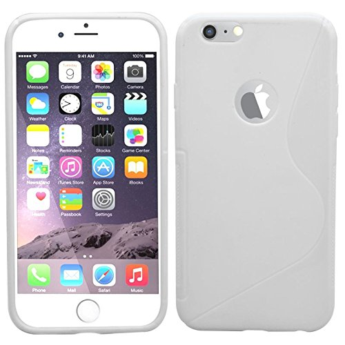 SAMRICK S Wave Coque de protection en hydrogel pour Apple iPhone 6 Blanc/6S Blanc