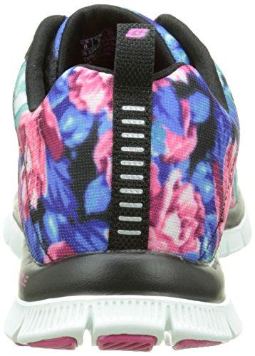 Skechers SkechersFlex AppealWildflowers - Scarpe da Ginnastica Basse Donna Nero