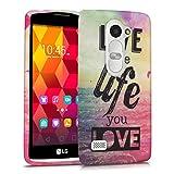 kwmobile LG Leon 3G / 4G Hülle - Handyhülle für LG Leon 3G / 4G - Handy Case in Mehrfarbig Pink Blau