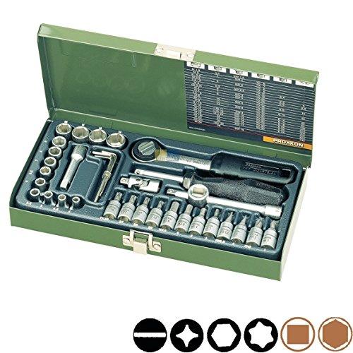 Preisvergleich Produktbild Feinmechaniker-Satz 36-teilig Proxxon 23080