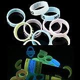 Lot of 10 Vape Ring Silicone Vape Band Luminous Anti Slip for RDA Tank Mechanical Mods Nicotine Free