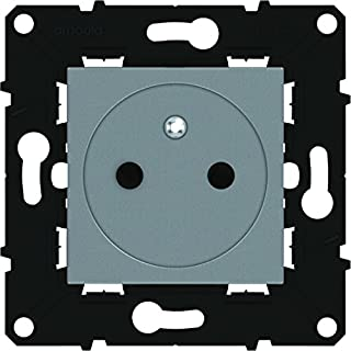 Arnould arn51141Flush-front Outlet with Earth Space Evolution 13-Inch Magnesium