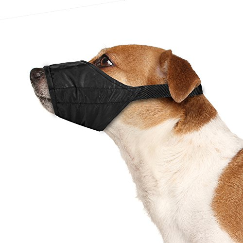 Weebo Pets Atmungsaktives Nylon Tuch Sicherheit Maulkorb, XS -