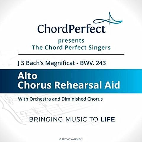 Magnificat, BWV 243: 11. Sicut Locutus Est (Alto Chorus Rehearsal Aid)