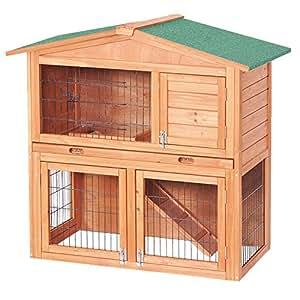 capanna a due piani per piccoli roditori gabbia per
